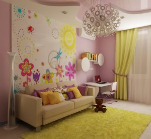 Дизайн детской комнаты по фэн-шуй