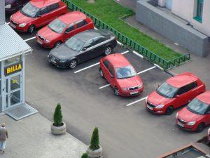 «Делёж» парковки закончился предложением руки и сердца