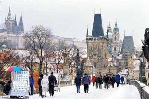 Новый год в Праге. Путешествие в Чехию.