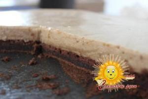 Торт «Кофейные чувства».