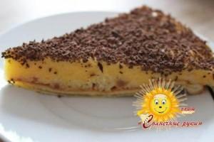 Торт мусс с манго