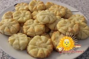 Печенье на новый год «Снежинка»
