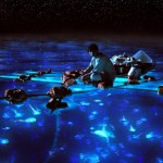 LOP-068    Pi Patel takes in the bioluminescent wonders of the sea.