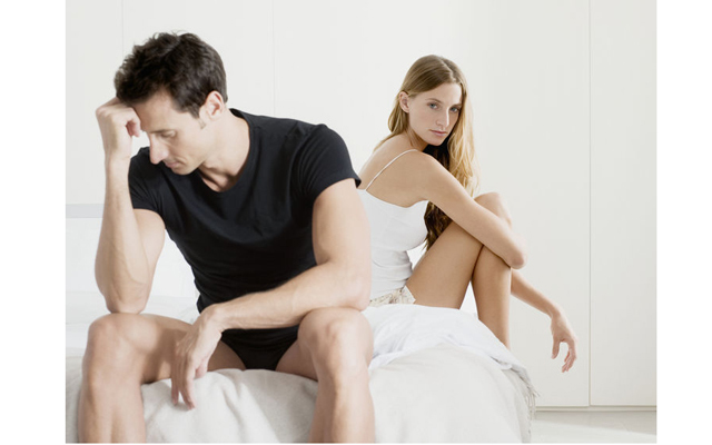 Мужчина потерял интерес к сексу