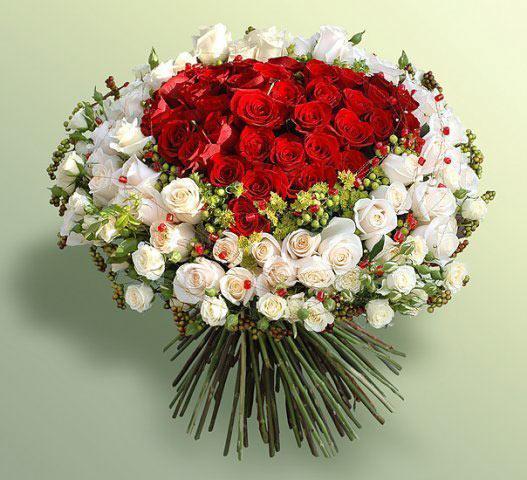 Букет цветов к дню рождения, фото. Купить с доставкой 5