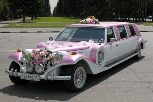 Оформление свадебных машин, нюансы и особенности