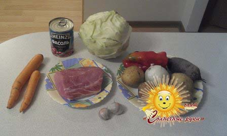 Украинский борщ с пампушками рецепт с фото пошагово - 1000 ...
