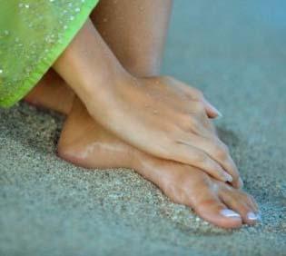 как сделать цвет кожи ног красивыми