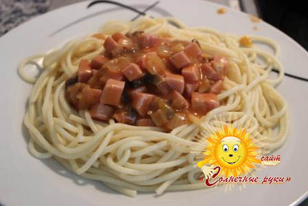спагетти - рецепты, статьи на
