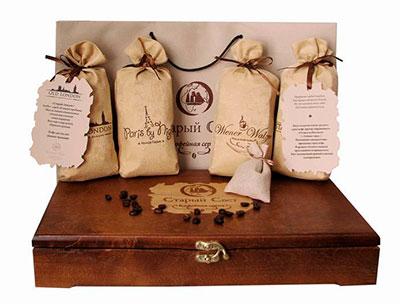 Подарки с кофе и чаем